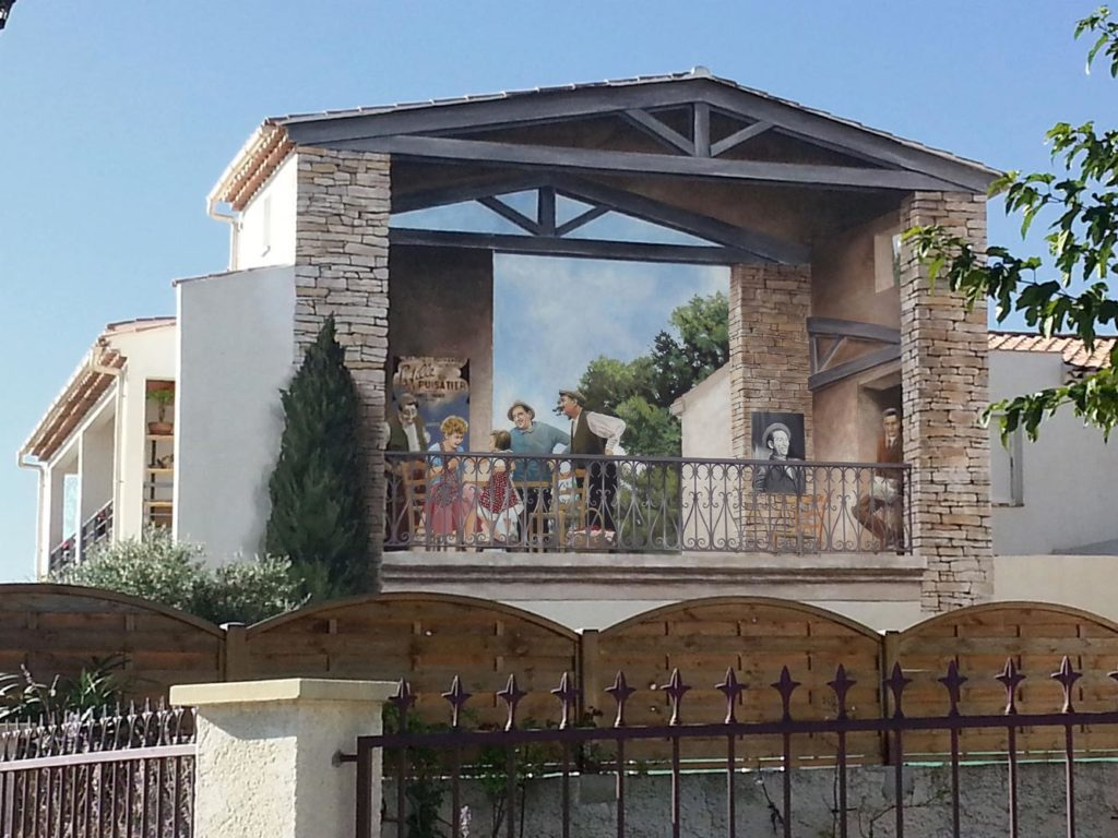 Mur Marcel Pagnol la fille du puisatier